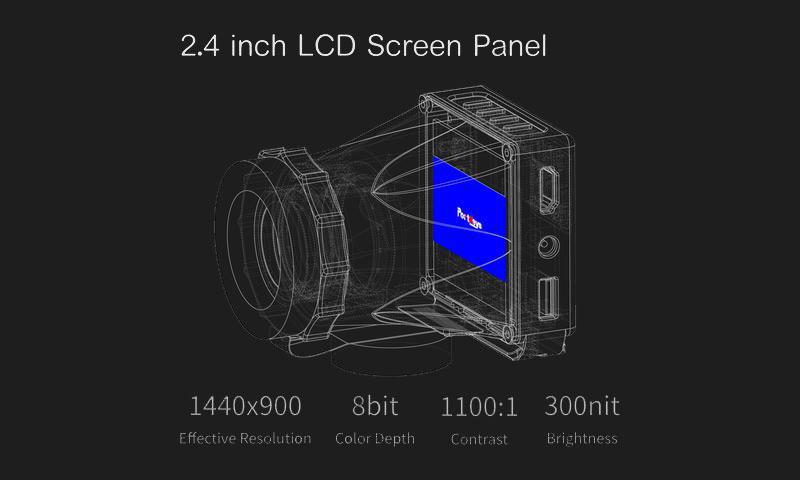 leye 2.4 inch lcd screen panel