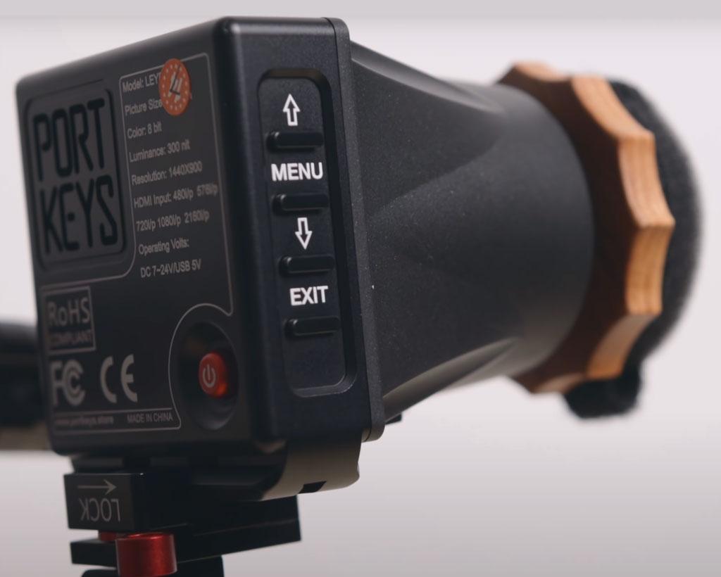 portkeys leye camera viewfinder