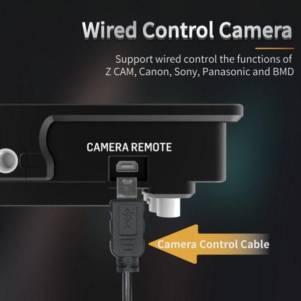 Portkeys BM5III wired camera control