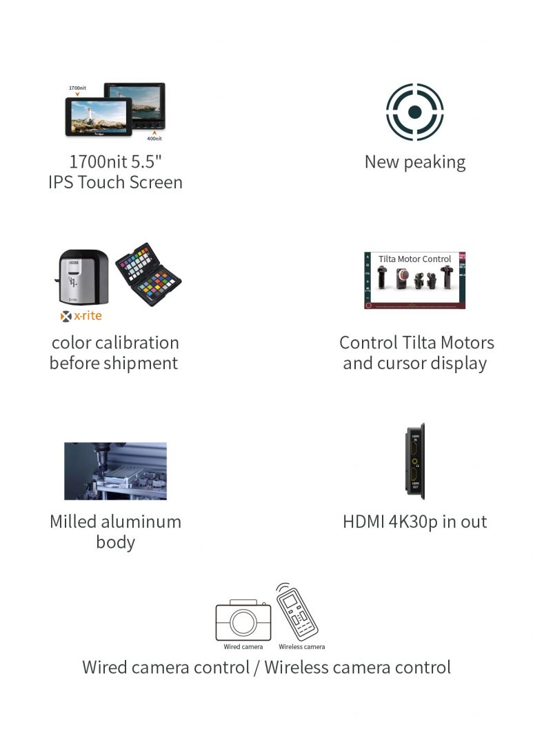 The functions of Portkeys LH5P camera monitor