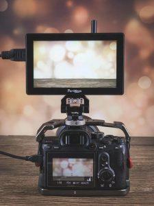 Portkeys LH5P on camera monitor