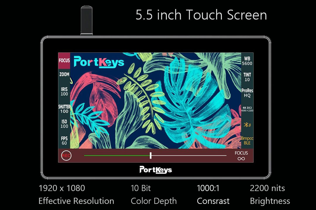 2200nit super bright screen
