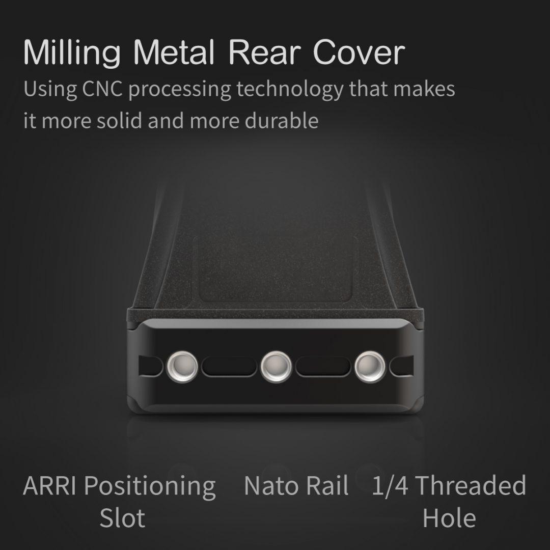 LEYE milling Metal rear cover
