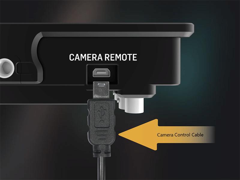 Portkeys monitor remote control port