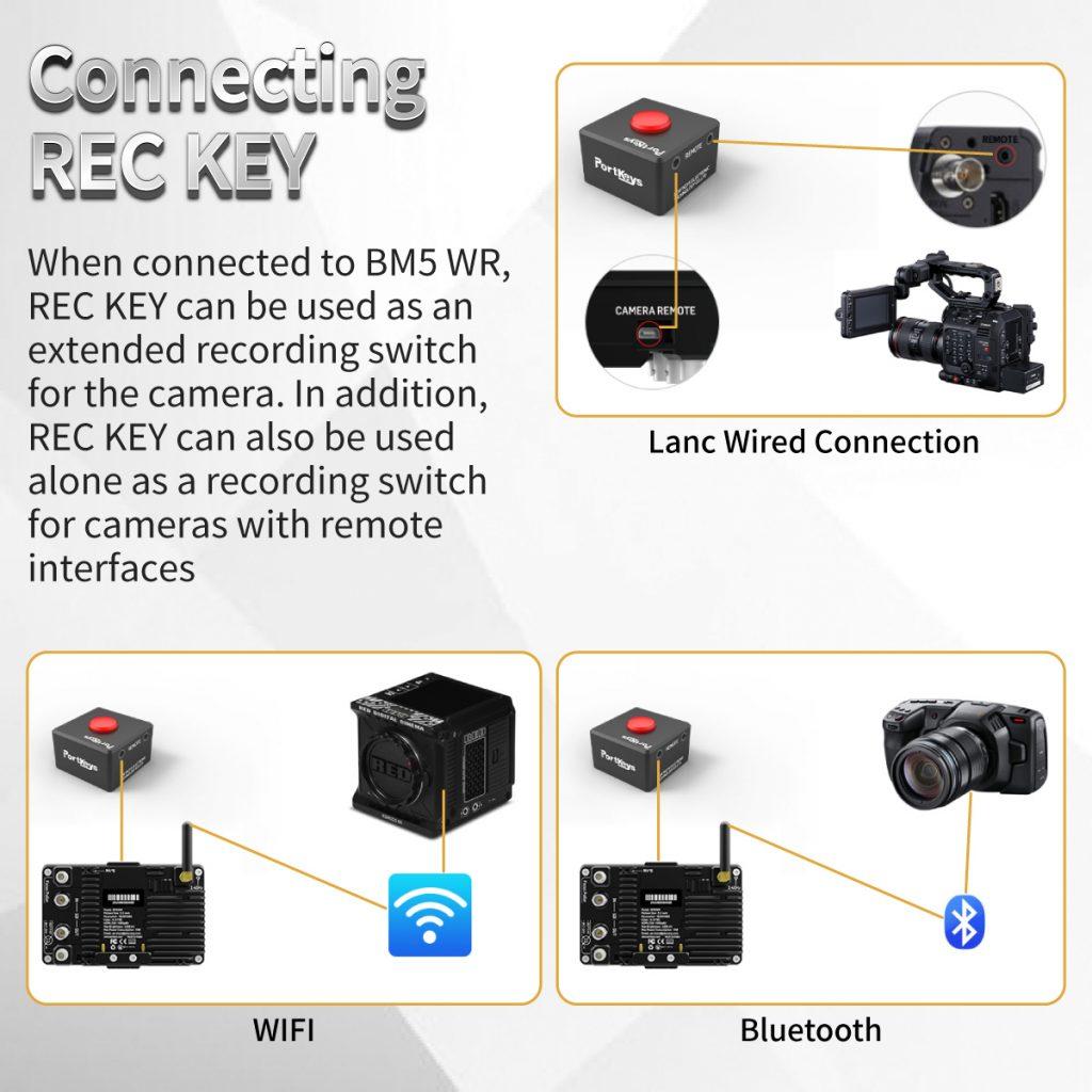 Connecting REC KEY