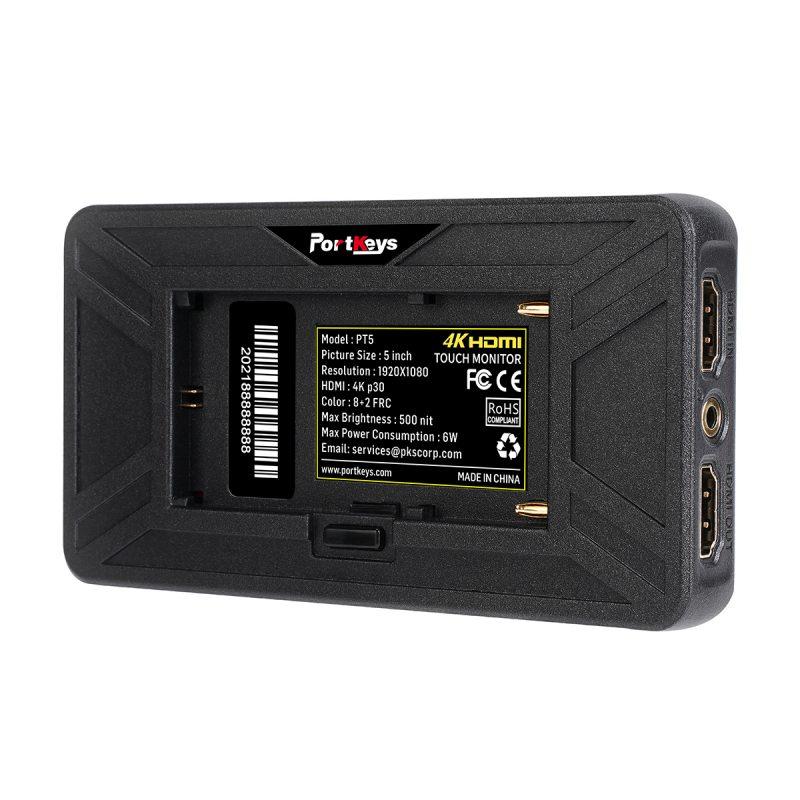 Portkeys PT5 4K HDMI 4