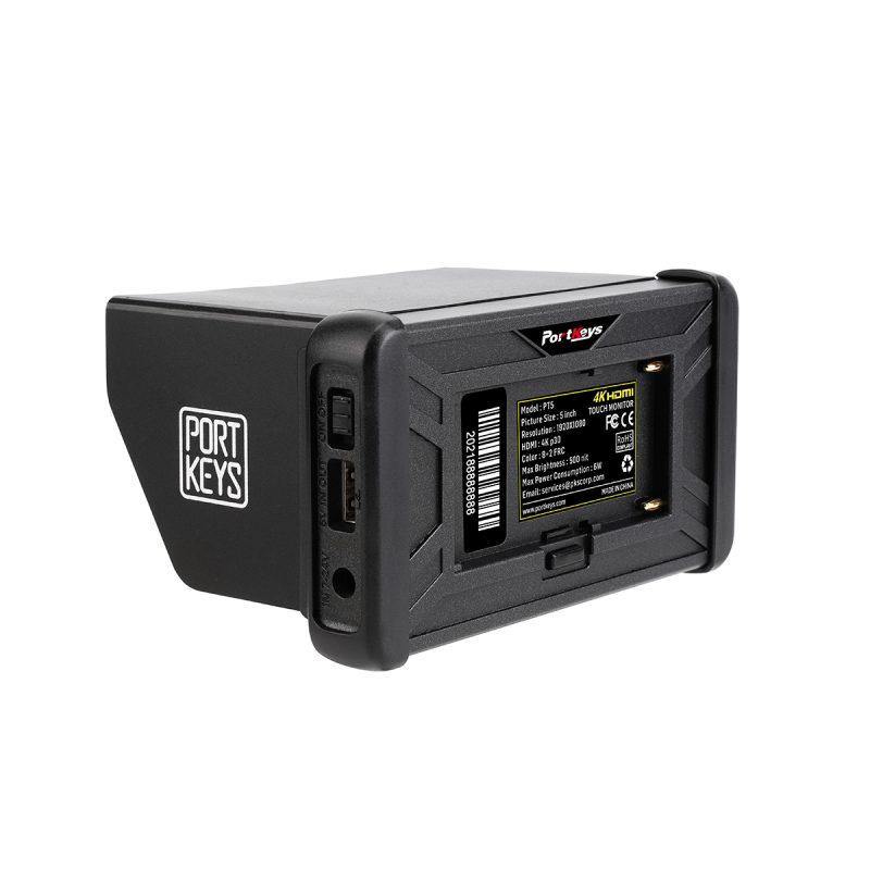 Portkeys PT5 4K HDMI back