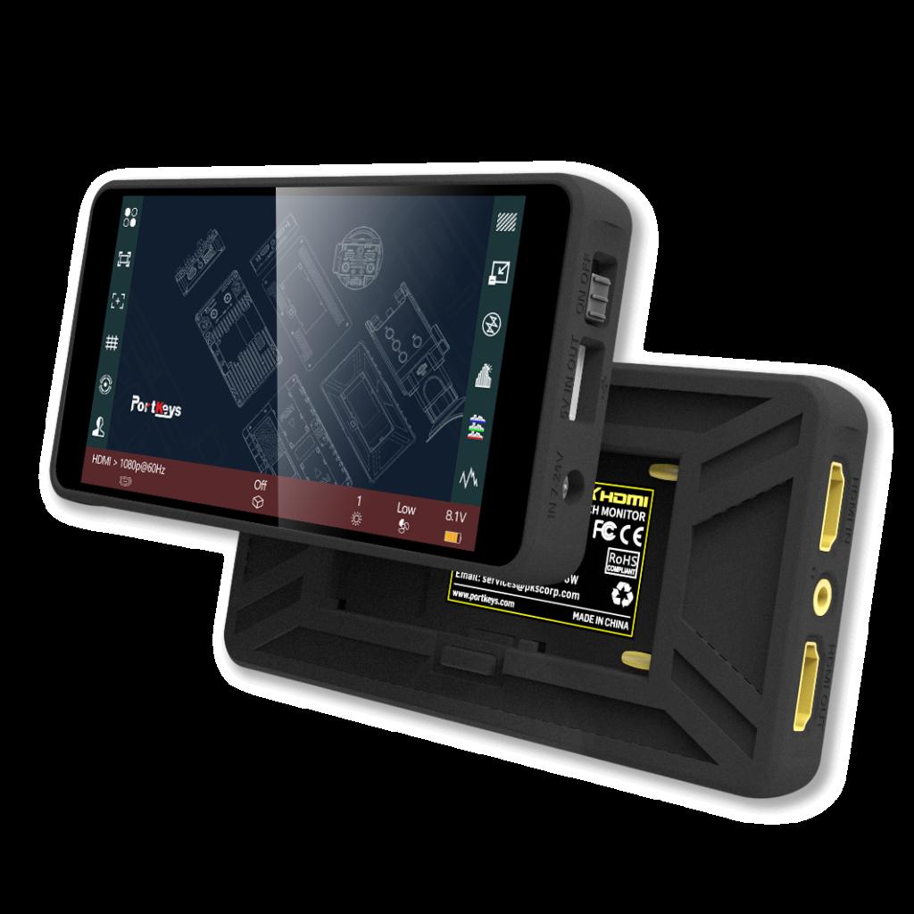 PT5 5'' 4K HMDI touchscreen monitor