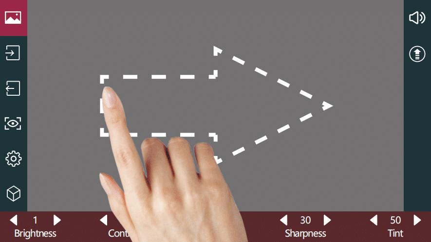 User interface quick-start