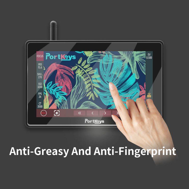 Anti greasy and fingerprint