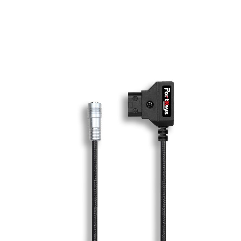 Portkeys D-Tap to 4-pin power cable for BM5/BM7