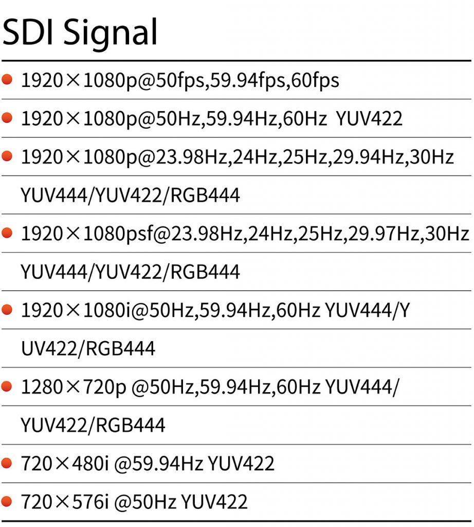 Portkeys HS7T SDI Signal