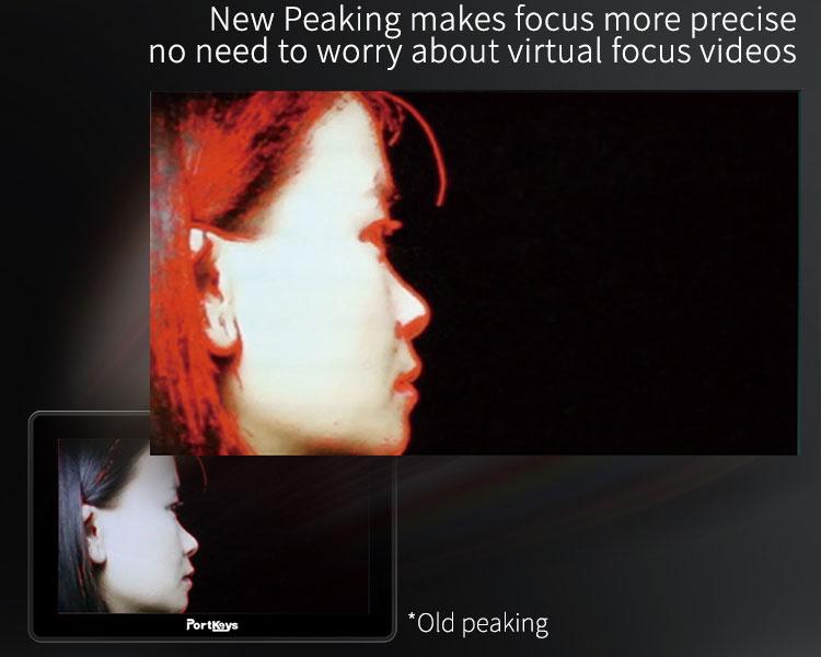New Peaking makes focus pulling easier