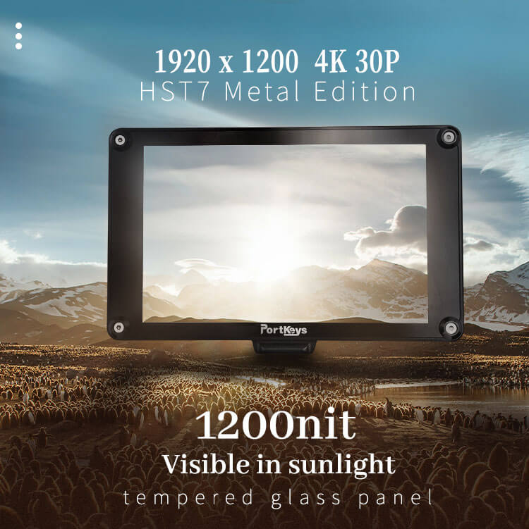 Portkeys HS7T Metal Edition High Bright Monitor