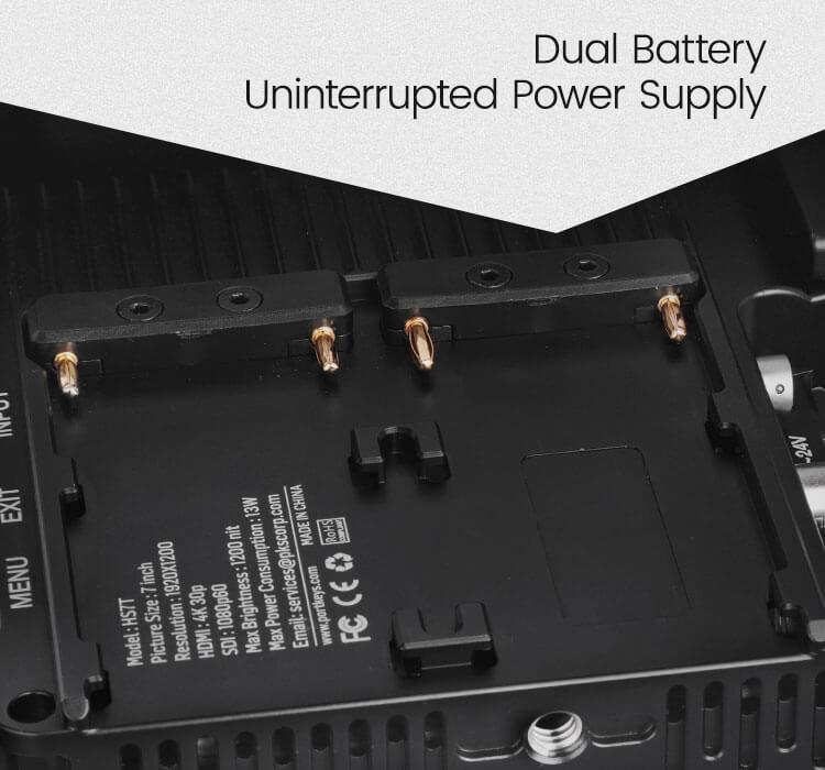 PortKeys HS7T Metal Edition power options