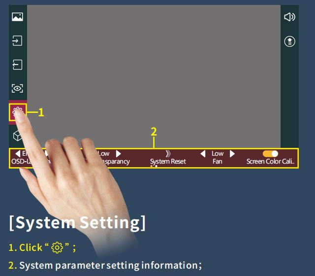 System reset your Portkeys monitor